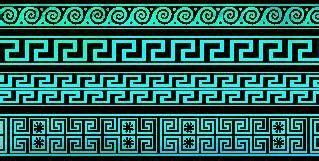 imagenes de grecas egipcias dise 241 o industrial greca