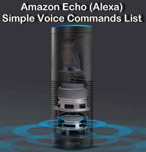 amazon echo series add a voice to your home with amazon s new amazon echo voice commands removeandreplace com