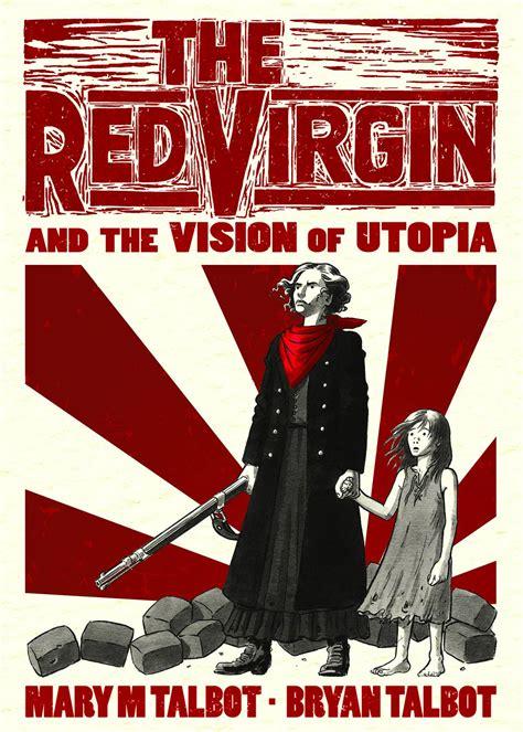 the red virgin and the red virgin and the vision of utopia fresh comics