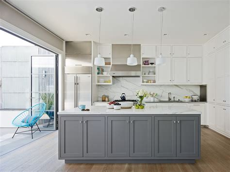 Modern Gray Kitchen Cabinets Grey Kitchens Kitchen Contemporary With Grey Kitchens Gray Kitchen