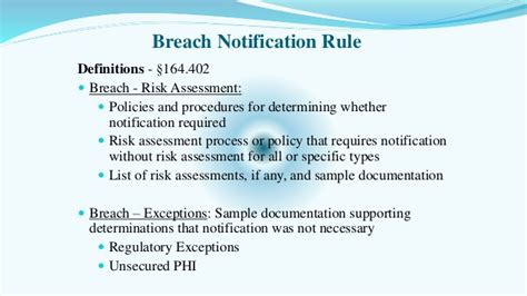 breach notification policy template gallery templates