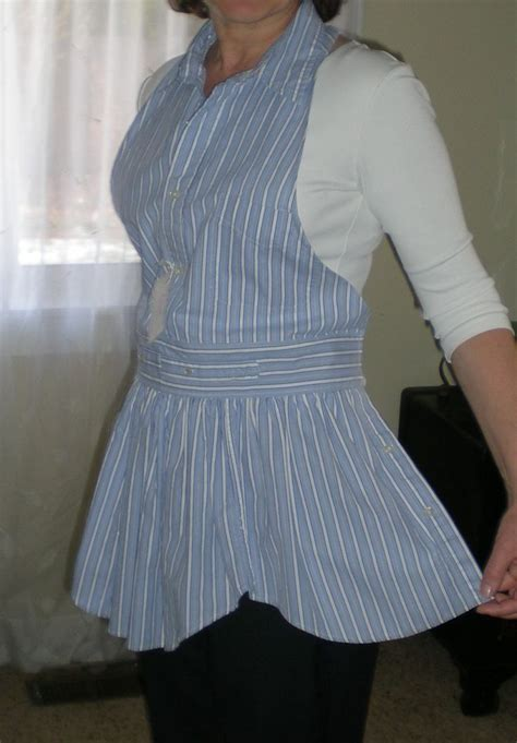 apron pattern made from man s shirt pin by jayme simmers on sewing projects pinterest
