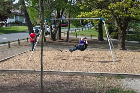 mamas and papas merry go round swing a new playground mama papa bubba
