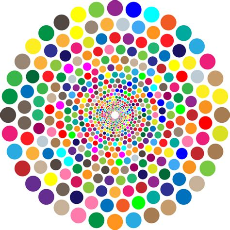 Colorful Clipart clipart colorful concentric circles vortex