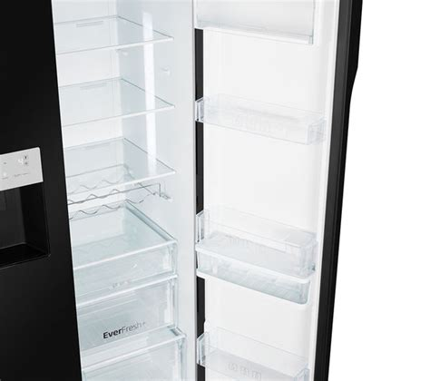 Fridge Freezers American Style No Plumbing by Buy Beko Asgn542b American Style Fridge Freezer Black Free Delivery Currys