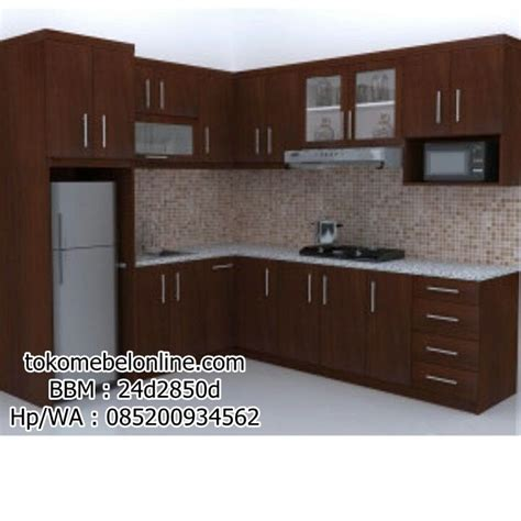 Kitchen Furniture Set kitchen set jati jual kitchen set jepara harga murah