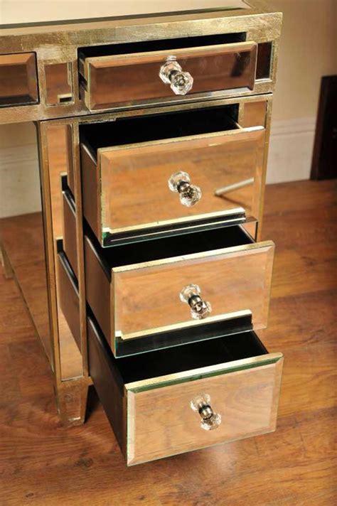 Mirrored Computer Desk Mirrored Desk Knee Mirror Furniture