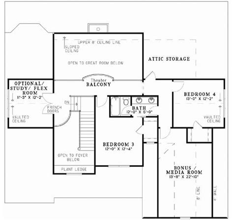 style house plans plan 12 747