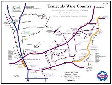 map of temecula temecula wine map