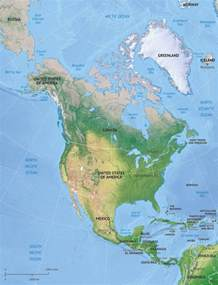 vector map america continent relief one stop map