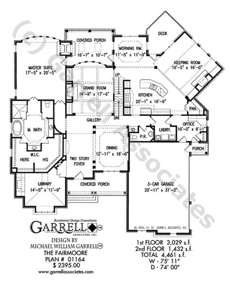 garrell floor plans fairmoore house plan house plans by garrell associates inc