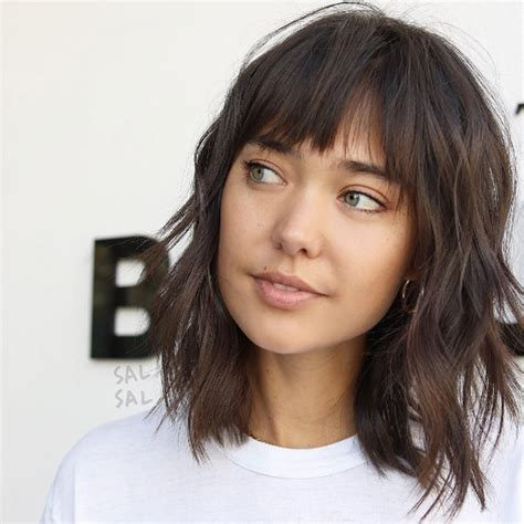 lob hairstyles layered and choppy 50 medium layered haircuts for fine hair style skinner