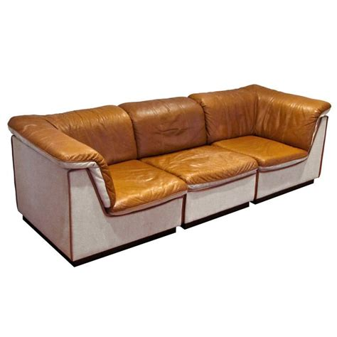 Modular Sectional Sofa Leather Modular Leather Sofa Domino Designer Modular Sofa Thesofa