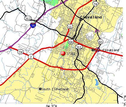 zip code map cleveland cleveland tn zip code map zip code map
