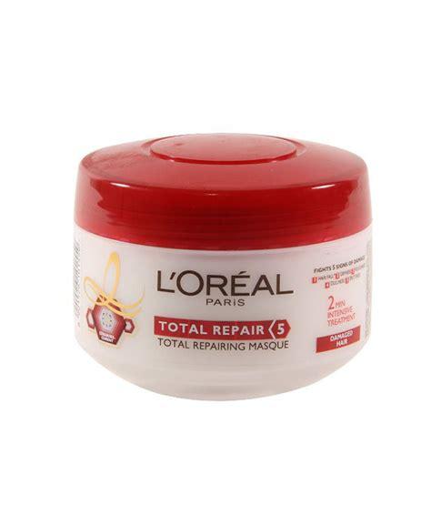 Jual Shoo Loreal Elseve hair mask loreal total repair 5 hair masque review l oreal total repair 5 hair masque