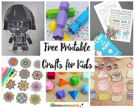free kid crafts 100 free printable crafts for allfreekidscrafts