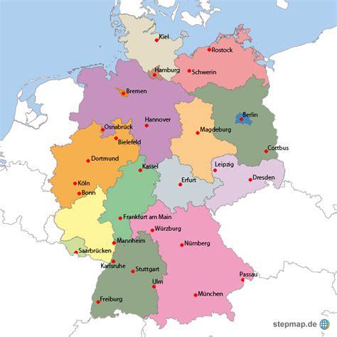 karta deutschland image gallery landkarte deutschland