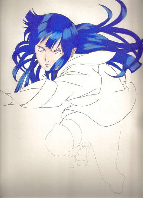 imagenes de gaara a lapiz dibujando anime hinata y naruto en kyubi a color taringa