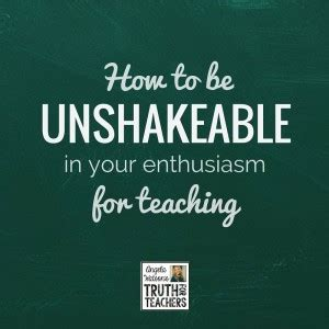 unshakeable your guide to how to be unshakeable in your enthusiasm for teaching the cornerstone