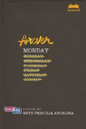 Metropop Forever Monday Ruth Priscilia Angellina bukukita metropop forever monday toko buku