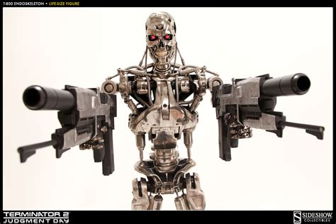 t 800 figure terminator t 800 endoskeleton size figure by sideshow