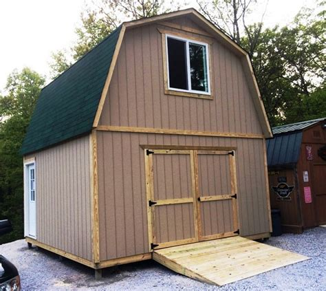 16x16 Shed by Affordable Cabins Sheds Cleveland Chattanooga