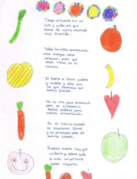 Poesia De Verduras   23 poemas anuestro huerto