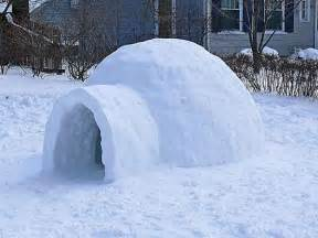 How To Build An Igloo In Your Backyard How To Build An Igloo