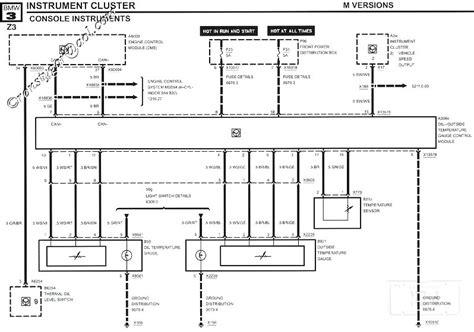 bmw e30 instrument cluster wiring diagram 41 wiring