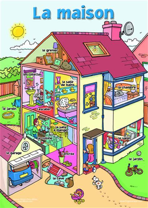 la casa poster la maison little linguist