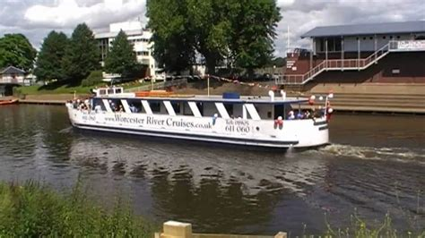 party boat worcester cruise boat pride of the midlands river severn