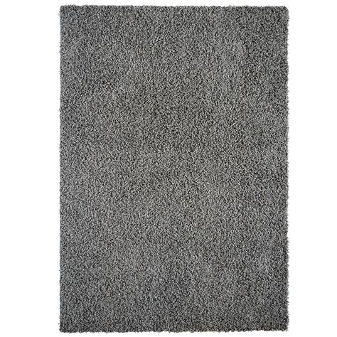 home depot shag area rugs lanart comfort shag charcoal 8 ft x 10 ft area rug cshag810ca the home depot