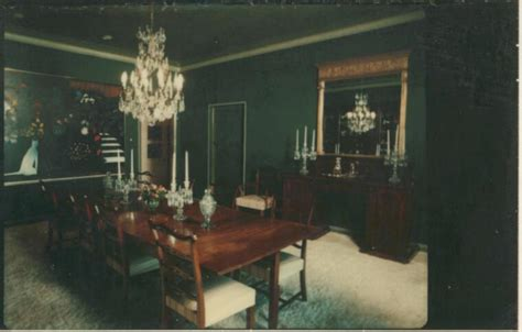 dark green walls digital collections pictures beal david 1936 dining
