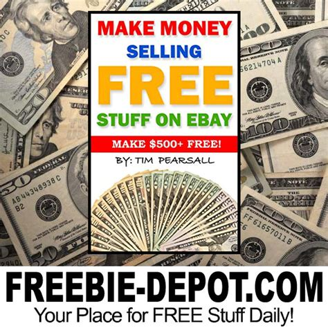 Best Thing To Sell Online To Make Money - make money selling free stuff on ebay freebie depot