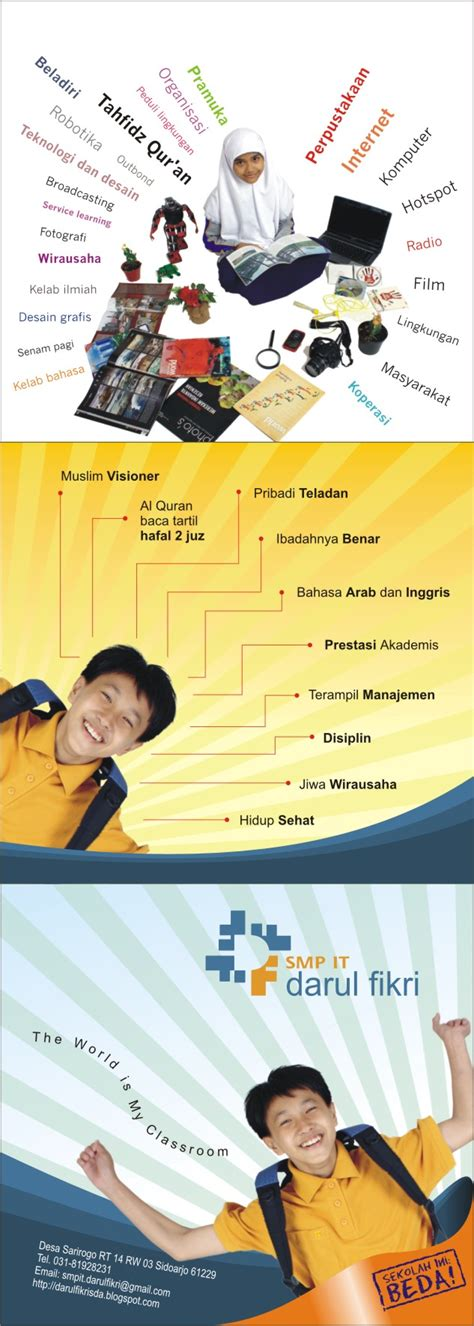harga desain brosur surabaya jaringan sekolah islam terpadu percetakan kalender