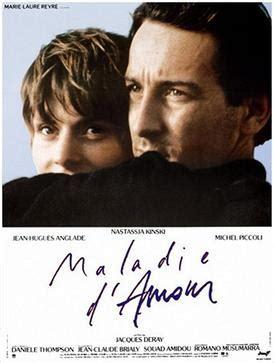 film romance maladie maladie d amour film wikipedia
