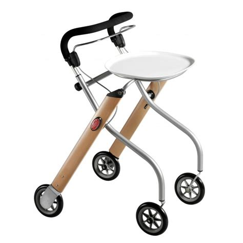 trustcare 174 let sgo indoor walker beech with tray bag
