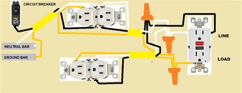 wiring outlets in parallel diagram wiring two outlets in