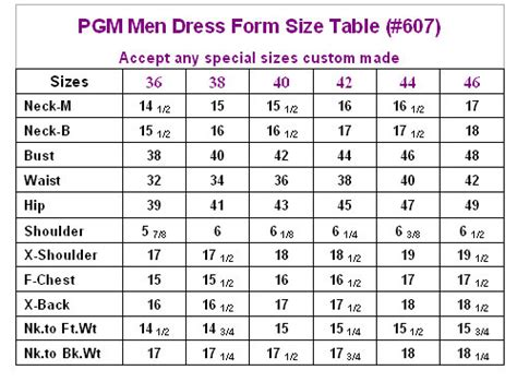 fashion doll size chart dress form with hip industry pro 607