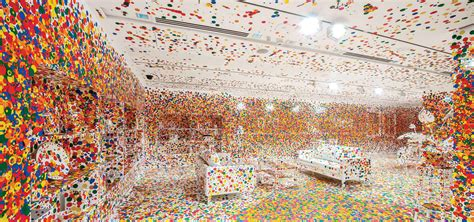 Residential House Plans by The Obliteration Room Yayoi Kusama Arch2o Com
