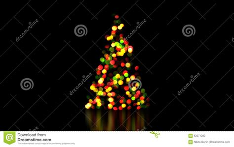 christmas tree lights went out colorful christmas tree lights out of focus stock