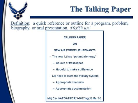 talking paper template communication skills ppt