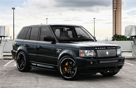 range rover custom wheels customized range rover sport exclusive motoring miami