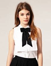 Asos Bow Neck Tie asos chiffon bow neck tie wear it well