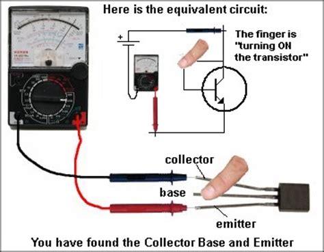 X10 Set Kulot Modhy Hitam teknologi elektronik cara menguji dan mengukur transistor jenis npn dan pnp