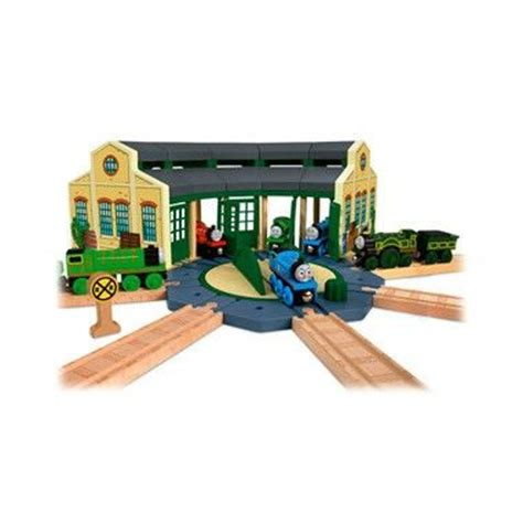 And Friends Tidmouth Sheds Playset by Fisher Price De Trein Houten Tidmouth Station