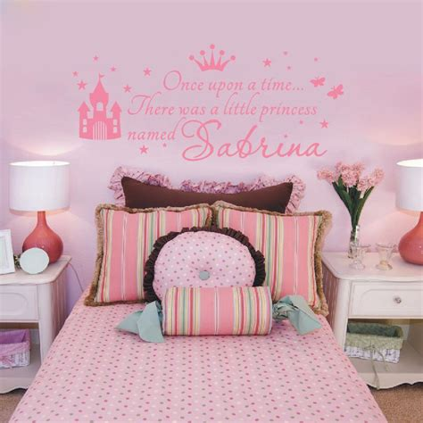 name on bedroom wall baby girl bedroom wall decals