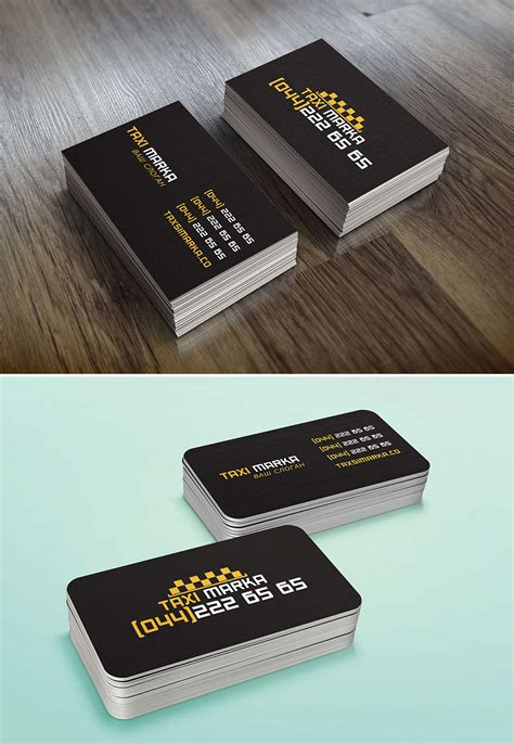 free taxi cab business card templates 10 yellow color scheme free taxi business card template