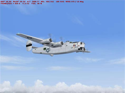 a b b 24 and b 26 bombers for fsx