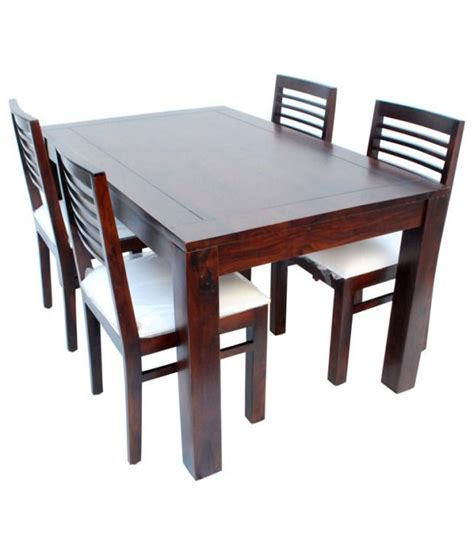 10 Trending Dining Table Models You Should Try Marwar Stores 4 Seater Dining Table Set Buy Marwar Stores 4 Seater Dining Table Set At